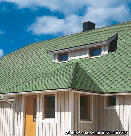 Строительство крыши.